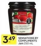 Sensations By Compliments Jam 250 mL