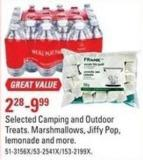 Selected Camping and Outdoor Treats