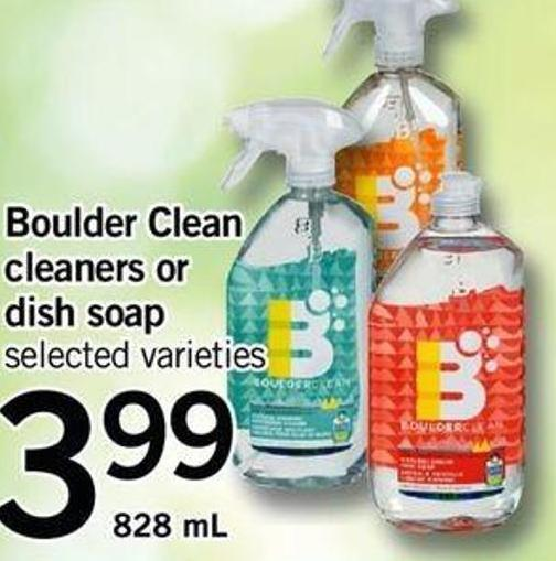 Boulder Clean Cleaners Or Dish Soap - 828 mL