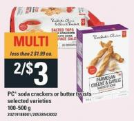 PC Soda Crackers Or Butter Twists - 100-500 g