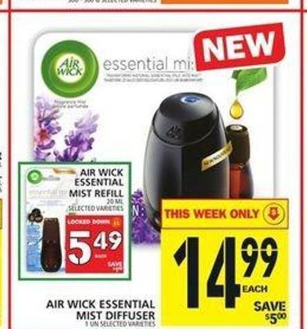 Air Wick Essential Mist Diffuser