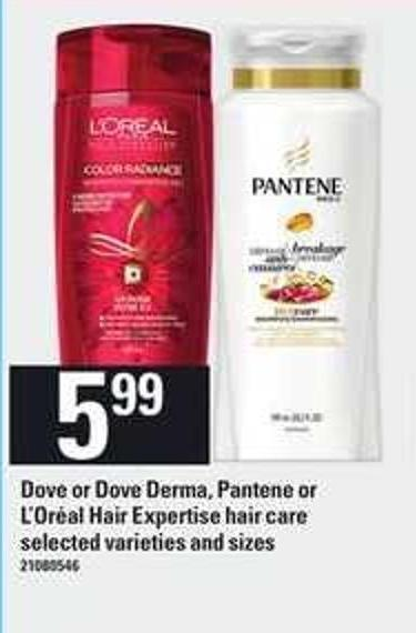 Dove Or Dove Derma - Pantene Or L'oréal Hair Expertise Hair Care