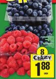 Blueberries Product Of Or Raspberries