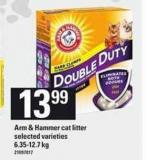 Arm & Hammer Cat Litter - 6.35-12.7 Kg