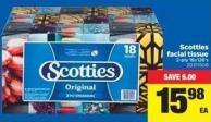 Scotties Facial Tissue - 2-ply 18x126's
