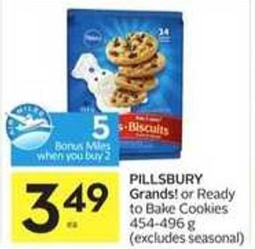 Pillsbury Grands! - 5 Air Miles Bonus Miles