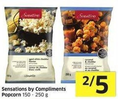 Sensations By Compliments Popcorn 150 - 250 g