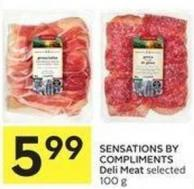 Sensations By Compliments Deli Meat
