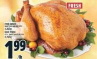 Fresh Turkeys Grade A