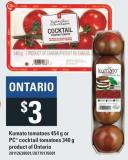 Kumato Tomatoes - 454 g Or PC  Cocktail Tomatoes - 340 g