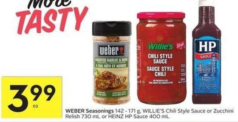 Weber Seasonings