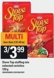 Stove Top Stuffing Mix - 120 g