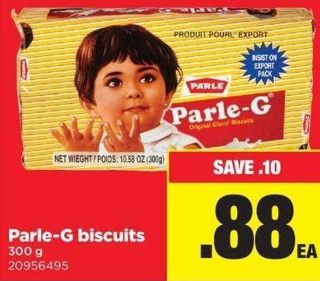 Parle-g Biscuits 300 g