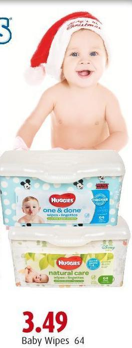Baby Wipes 64