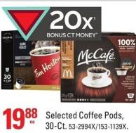 Selected Coffee Pods - 30-ct