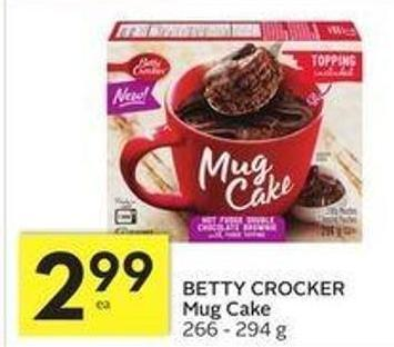 Betty Crocker Mug Cake