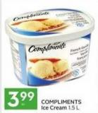 Compliments Ice Cream