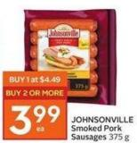 Johnsonville Smoked Pork Sausages