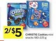 Christie Cookies Mini - 50 Air Miles Bonus Miles