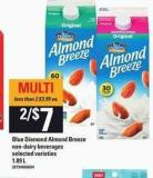 Blue Diamond Almond Breeze - 1.89 L