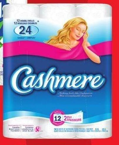 Cashmere Bathroom Tissue - Regular or Ultra