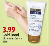 Gold Bond  Ultra Hand Cream  85ml