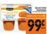 Selection Pudding