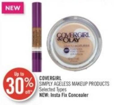 Covergirl Simply Ageless Makeup Products