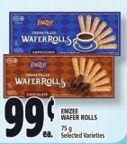 Emzee Wafer Rolls 75 g