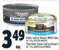 Clover Leaf Or Ocean's White Tuna 142 - 170 g