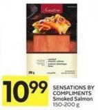 Sensations By Compliments Smoked Salmon 150-200 g