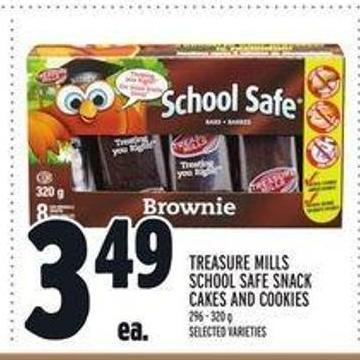 Treasure Mills School Safe Snack Cakes And Cookies