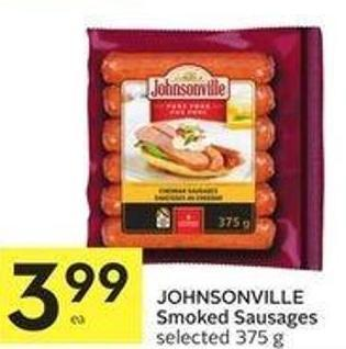Johnsonville Smoked Sausages Selected 375 g