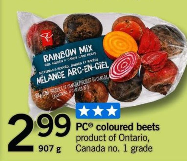 PC Coloured Beets - 907 G