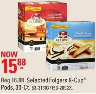 Folgers Selected Folgers K-cup