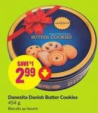 Danesita Danish Butter Cookies 454 g