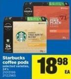 Starbucks Coffee PODS - 24's