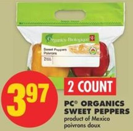 PC Organics Sweet Peppers.2 Count