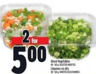 Diced Vegetables | Légumes En Dés