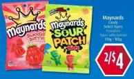 Maynards Candy  Select Types