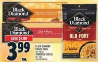 Black Diamond Cheese Bars 400 - 500 g