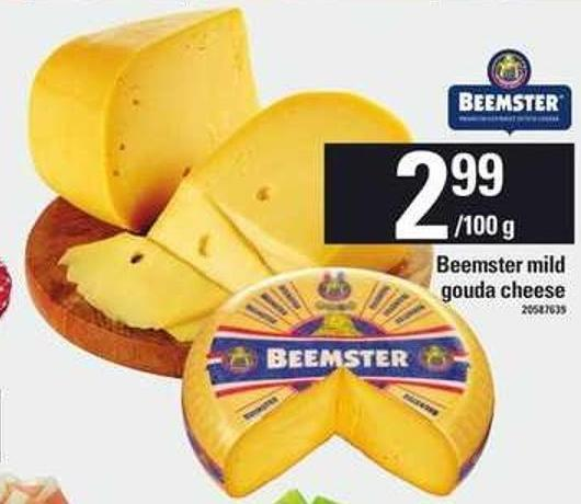 Beemster Mild Gouda Cheese