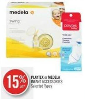 Playtex or Medela Infant Accessories