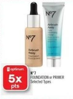 N°7 Foundation or Primer