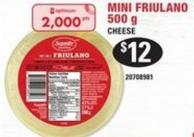 Mini Friulano Cheese