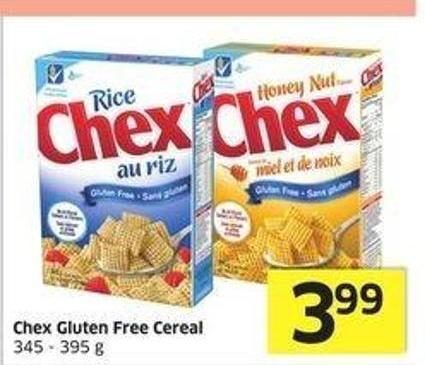 Chex Gluten Free Cereal