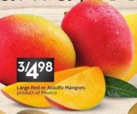 Large Red or Ataulfo Mangoes Product of Mexico