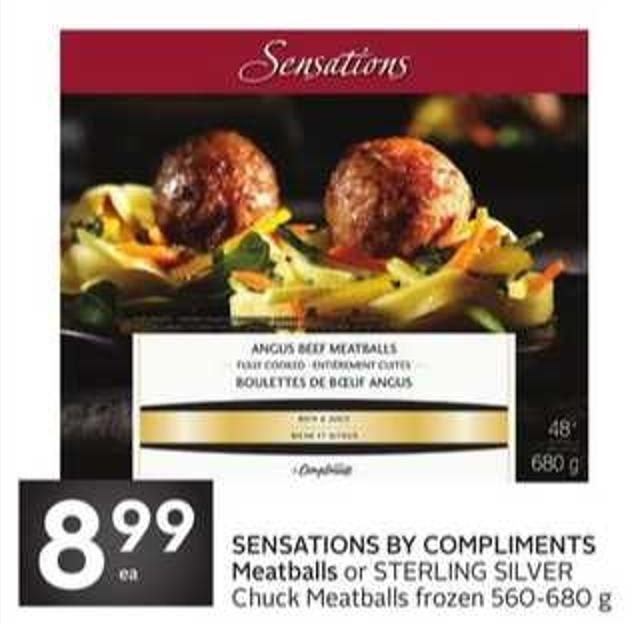 Sensations By Compliments Meatballs