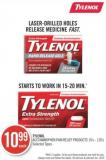 Tylenol Acetaminophen Pain Relief Products 16's - 120's