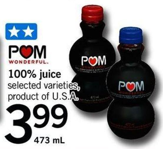 POM Wonderful 100% Juice - 473 Ml